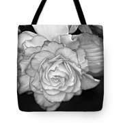Be Gentle Bw Tote Bag