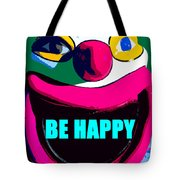 Be Happy Clown 2 Tote Bag