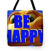 Be Happy Dino Tote Bag