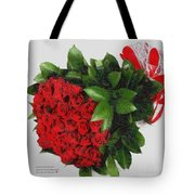 Be Mine Valentine By Presidential Candidate Catherine Lott Tote Bag