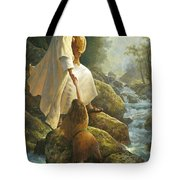 Be Not Afraid Tote Bag by Greg Olsen