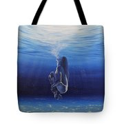 Be Still And Breathe Tote Bag