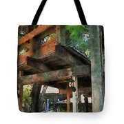 Be Still In This Quiet Place Tote Bag