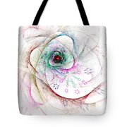 Be Strong Little Flower Tote Bag