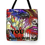 Be You. Tote Bag by Darren Cannell