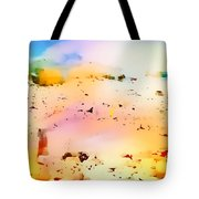 Beach Abstract Tote Bag