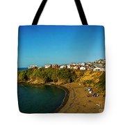 Beach - Ancud Chiloe Tote Bag