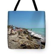 Beach And Rocks Tote Bag