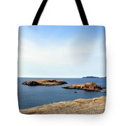 Beach And Rocky Shoreline Tote Bag
