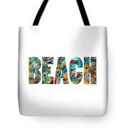 Beach Art - Beachy Keen - By Sharon Cummings Tote Bag
