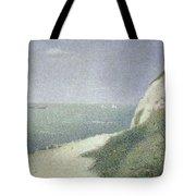 Beach At Bas Butin Tote Bag