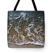 Beach At Grand Turk Ocean Beauty Tote Bag