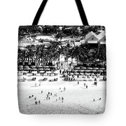 Beach At Grand Turk Tote Bag