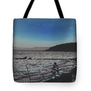 Beach At Twilight Tote Bag