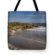Beach At Tybee Tote Bag