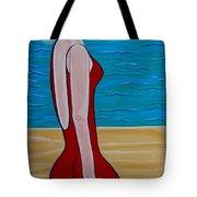 Beach Babe Tote Bag