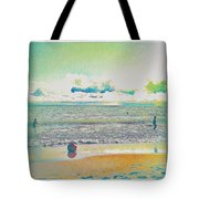 Beach Ball And Swimmers Tote Bag