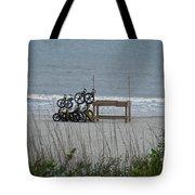 Beach Bicycles Tote Bag