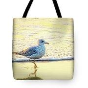 Beach Bird Tote Bag