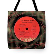 Beach Boys Endless Summer Lp Label Tote Bag