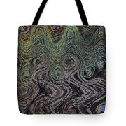 Beach Bubbles Abstract Tote Bag