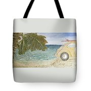 Beach Bug Tote Bag