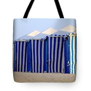Beach Cabanas Tote Bag