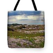 Beach Carpet Tote Bag