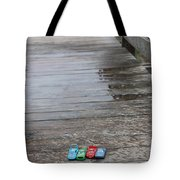Beach Cars Tote Bag