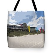 Beach Casino Tote Bag