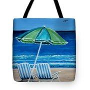 Beach Chair Bliss Tote Bag
