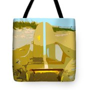 Beach Chair Work Number 3 Tote Bag