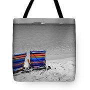 Beach Chairs 2  Tote Bag