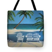 Beach Chairs No. 1 Tote Bag