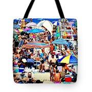Beach Chaos Tote Bag