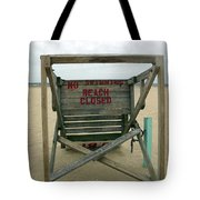 Beach Closed Tote Bag