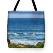 Beach Cloud Streak Tote Bag