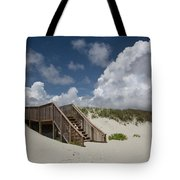 Beach Clouds Tote Bag