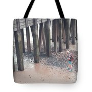 Beach Combing Tote Bag