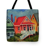 Beach Cottage Tote Bag