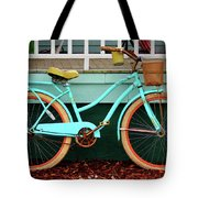 Beach Cruiser Bike Tote Bag