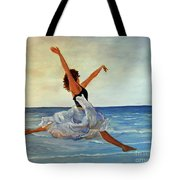 Beach Dancer Tote Bag