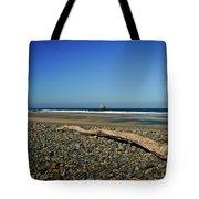 Beach Driftwood Tote Bag