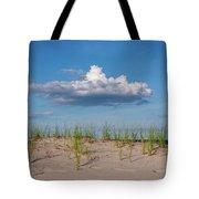Beach Dune Clouds Jersey Shore Tote Bag