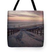 Beach Entrance Lbi New Jersey Vintage  Tote Bag
