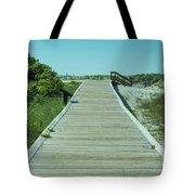 Beach Entrance Tote Bag