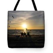 Beach Family Tote Bag