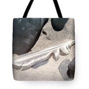 Beach Feather Tote Bag