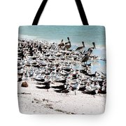Beach Flock Tote Bag