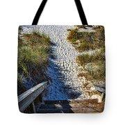 Beach Footprints - Boca Grande Florida Tote Bag
